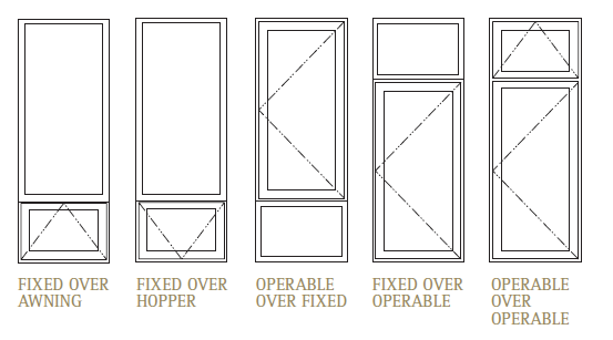 Door swing elevation elevation section reference for Window elevation